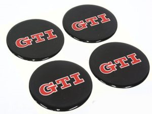 VW GTi Mag Center Cap Decals-0