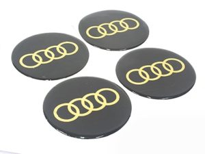 Audio 70mm Wheel Decal Sticker Set-0