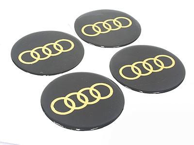 Audio 70mm Wheel Decal Sticker Set