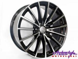 """19"""" VW 5246 Spider 5/112 BKMF Alloy Wheels-0"""