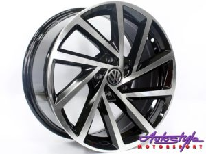"17"" VW R-Performance 5/112 BKMF Alloy Wheels-0"