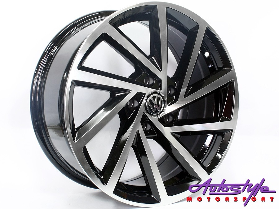 "17"" VW R-Performance 5/112 BKMF Alloy Wheels-0"