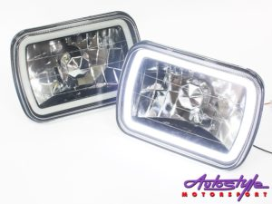 Nissan 1400 Angel Eye CCFL Smoke headlights-0