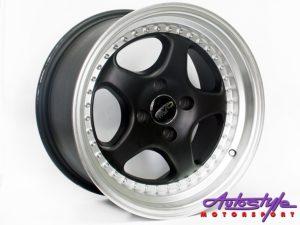 "15"" Evo Ruf 4/100 MBSL Alloy Wheels-0"