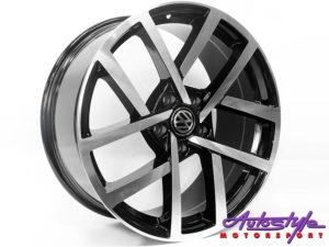 "18"" VW R-Performance2 5/112 BKMF Alloy Wheels-0"