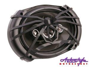 "Soundstream Arachnid Series 6""x9"" 4-Way Speaker, 170w RMS-0"