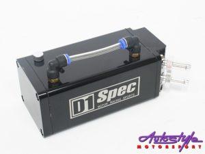 D-1 Spec Alluminium Oil Catch Can (black)-0