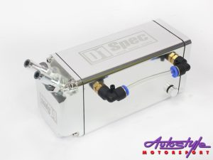 D-1 Spec Alluminium Oil Catch Can (silver)-0