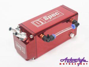 D-1 Spec Alluminium Oil Catch Can (red)-0