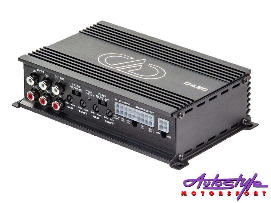 Digital Designs DD-D4.60 Mini 4ch Amplifier-0