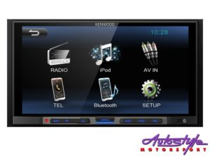 "Kenwood DMX-100BT 6.8"" Double Din Digital Media Receiver-0"