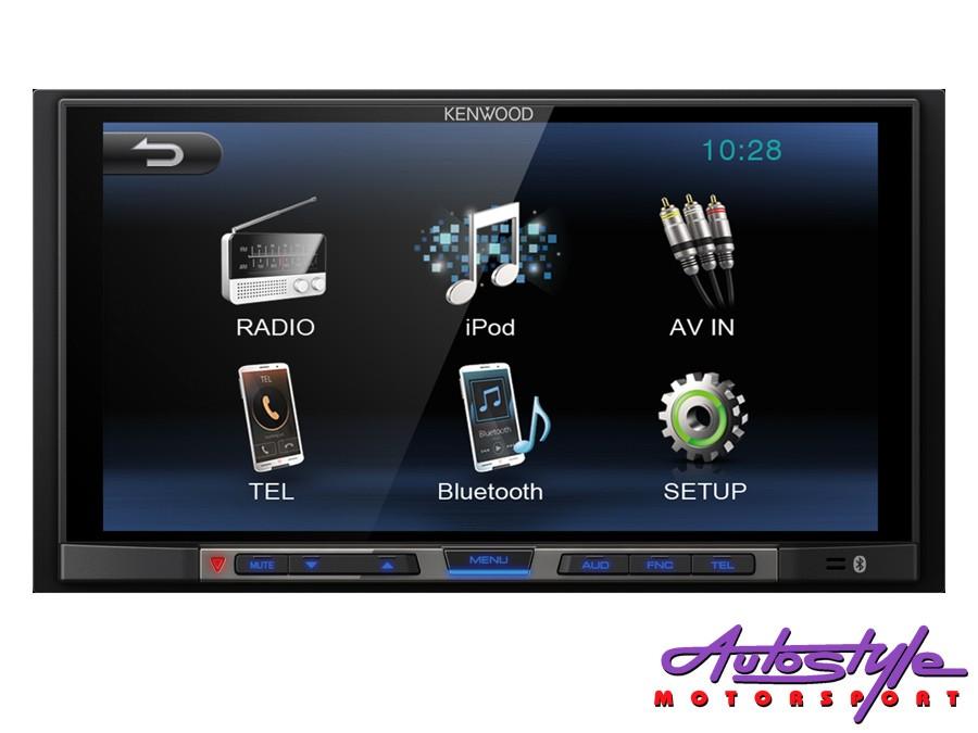 """Kenwood DMX-100BT 6.8"""" Double Din Digital Media Receiver-0"""