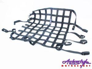 Sparco Rear Racing Rollcage Net (black)-0