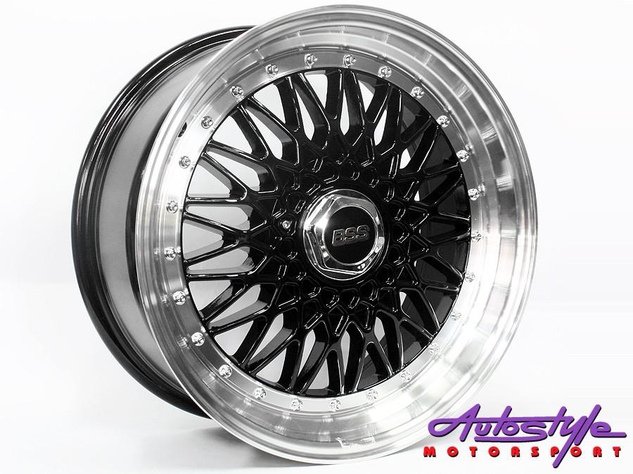 """17"""" BSS 5/100 & 5/114 Black Alloy wheels-0"""