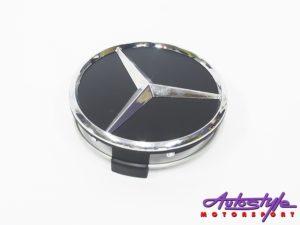 MC Black Design wheel Center Cap (ea)-0