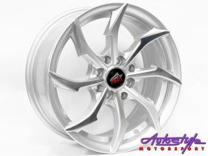 "15"" Axe TSD-108 4/100 & 4/114 Alloy wheels-0"