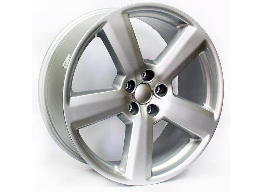 19″ Evo MT008 5/112 Silver Alloy Wheels