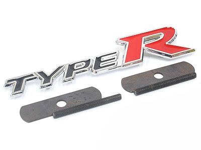 Type-R Metal Grille Badge