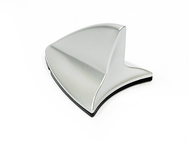 Shark Fin Design Silver Stick-on Aerial