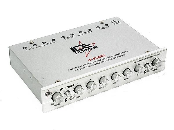 Ice Power 5band Car Audio Equalizer