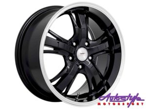 "17"" A-Line Hammer 5/112 STBK Alloy Wheels-0"
