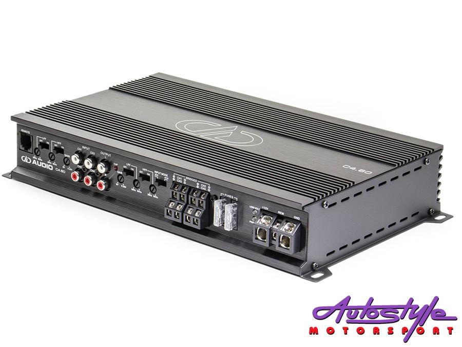 Digital Design C Series 4channel 60rms Amplifier-0