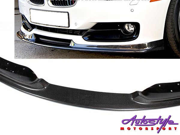Suitable for Bmw F30 Carbon Front Spoiler