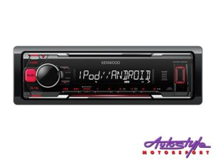 Kenwood KMM-203 Media Player with USB/Aux-0