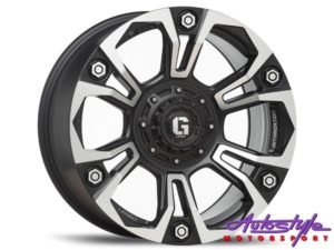 "18"" Lenso Intimid G6 6/139 Alloy Wheels-0"