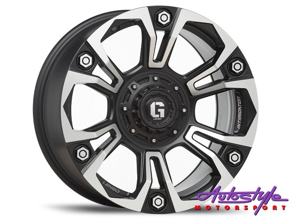 "18"" Lenso Intimid G6 6/139 Alloy Wheels-0"