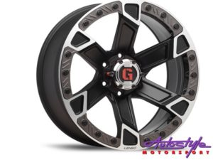 "20"" Lenso Intimid 6/139 Alloy Wheels-0"
