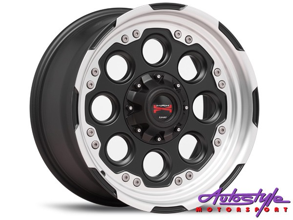 17″ Lenso Max-6 6/139 Alloy Wheels