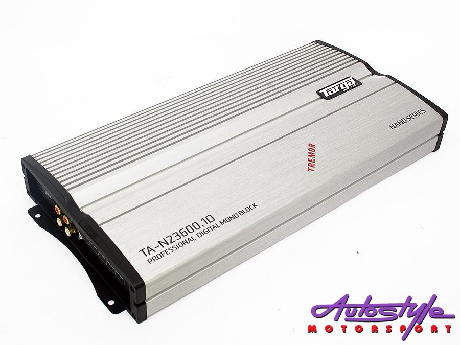 Targa Nano Tremor Series 2500rms 1ohm Amplifier-0