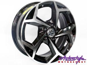 "15"" Axe AV21(A) 5/100 BKMF Alloy Wheels-0"
