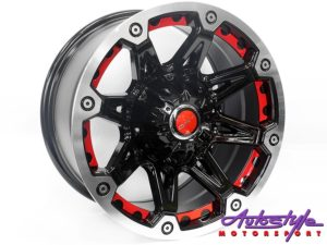 "16"" QS BK349 6/139 BKML Alloy Loose Alloy Wheel-0"