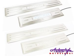 Ford Ranger 4pc Door Sill Step Plates (with LED)-27707