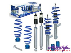 JOM Blue Line Coilover Suspension Kit for VW Polo 6N-0