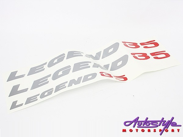 Legend 35 Vinyl door sticker kit-0