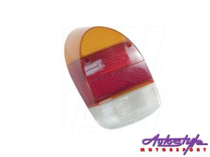 VW Classic Beetle 68-74 Red/White Tailight (each)-28174