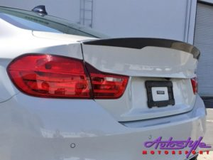Suitable for F80 M3 / F82 M4 Carbon Bootspoiler -0