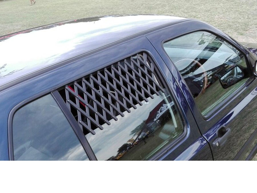 Clip-On Window Grille Air Mesh-28048