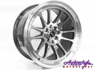 "17"" Evo T669 4/100 & 4/114 BMF Alloy Wheels-0"