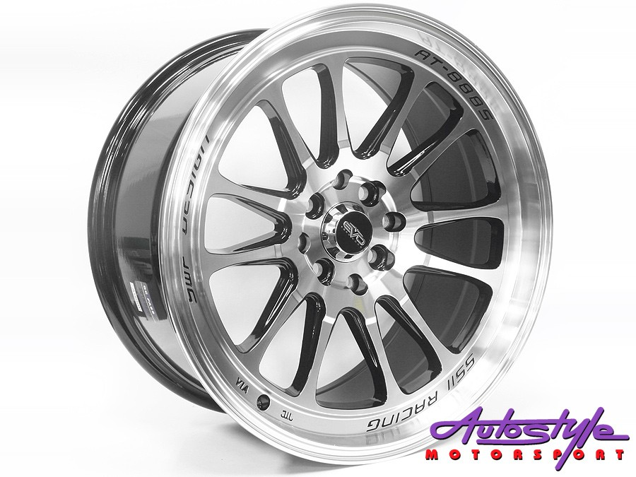 17″ Evo T669 4/100 & 4/114 BMF Alloy Wheels