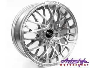 "15"" Evo Osaka 4/100 Grey Alloy Wheels-0"