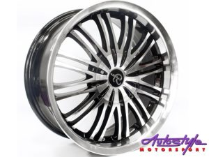 "17"" GR-375 4/100 & 4/114 BKMF Alloy Wheels-0"