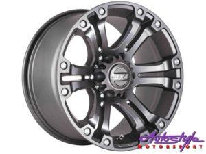 "17"" A-Line Granite 6/139 MG Alloy Wheels-0"