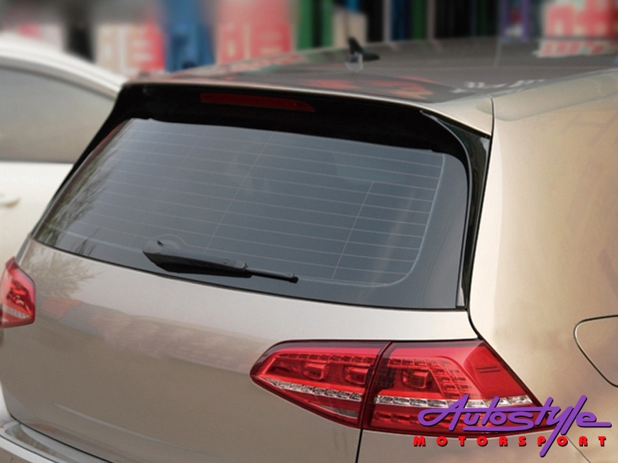 VW Golf Mk7 Gti Plastic Roofspoiler with extension