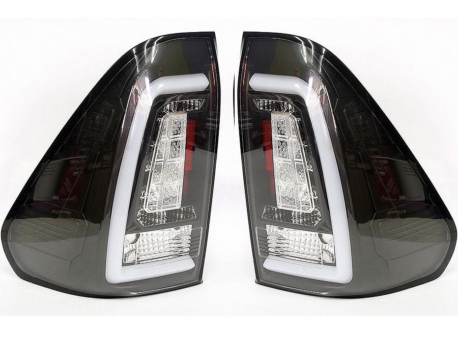 Toyota Hilux 2016+ U-Bar LED Tailights (black)