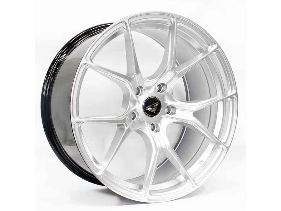 19″ Axe V-103(A) 5/120 Hypersilver Alloy Wheels