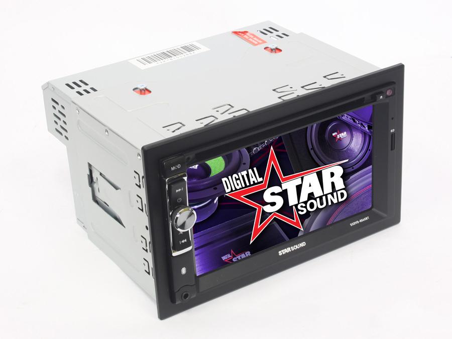 Starsound SSDVD-8060BT Double Din DVD with bluetooth & USB